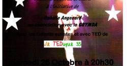 spectacle de dans au profit de je TEDuque 35